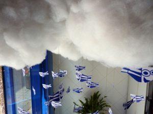 It's raining anxoves. Aparadorisme. Andrea Alcalá