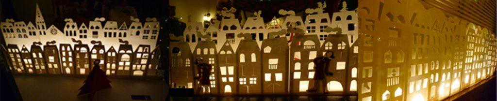 Nadal Snow Town. Carrer Hospital, Cardedeu. Aparadorisme. Andrea Alcalá
