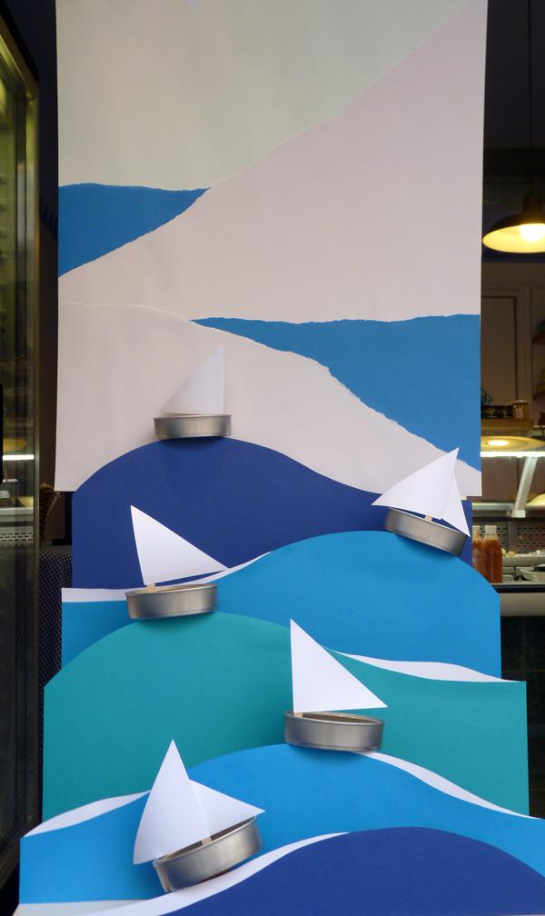 Vaixells de llauna. Aparadorisme. Andrea Alcalá