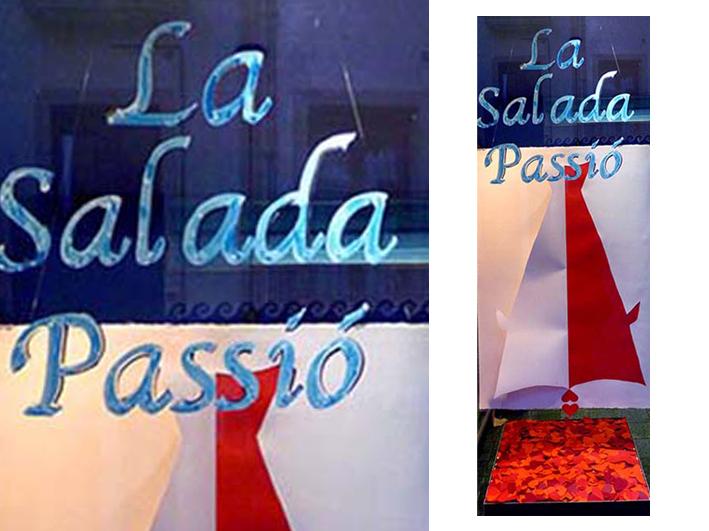 La Salada Passió . Aparadorisme. Andrea Alcalá