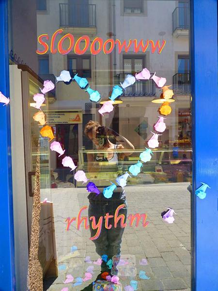 Slow rhythm. Aparadorisme. Andrea Alcalá