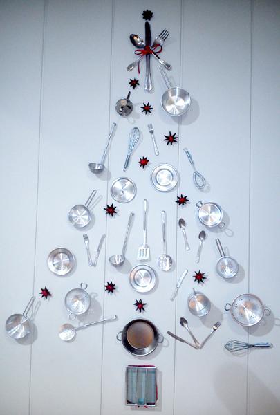 Nadal vitaminat.Decoracions efímeres i set design. Andrea Alcalà