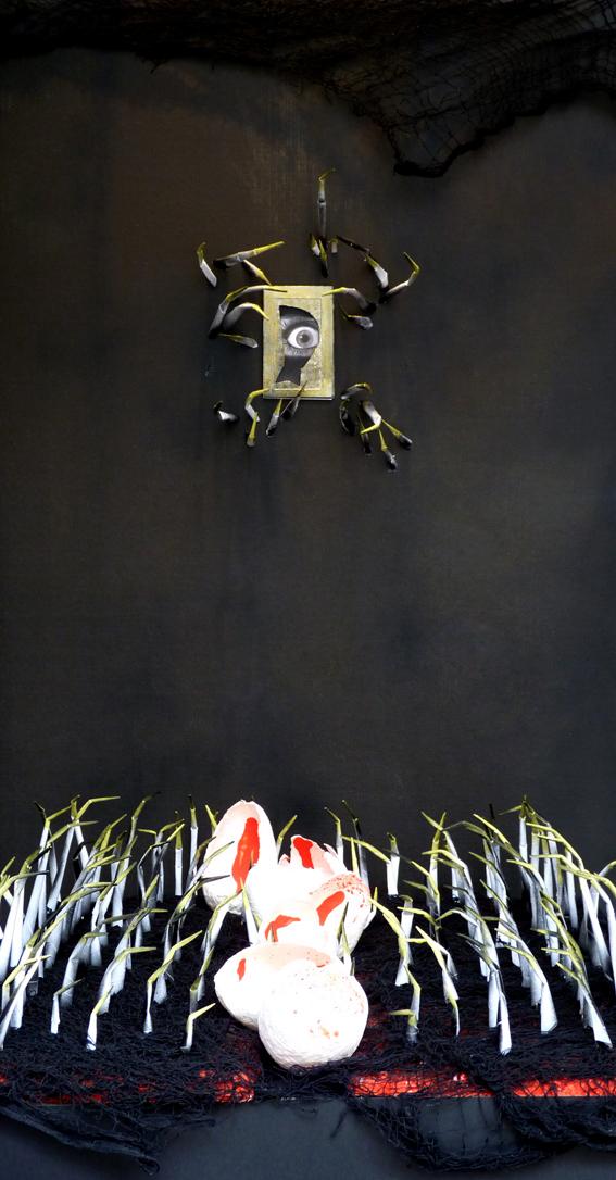 Cardoterror. L'Anxoveta, Cardedeu. Aparadorisme. Andrea Alcalá